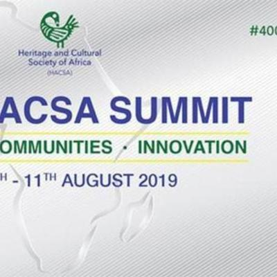 Heritage and Cultural Society of Africa (HACSA) Summit