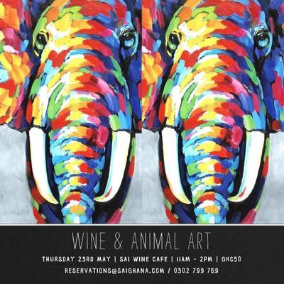 Wine & Animal Art