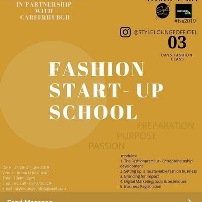 Fashion Start - Up School