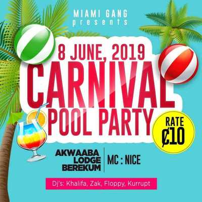 Carnival Pool Party