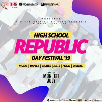 "High School Republic Day Festival ""19"""