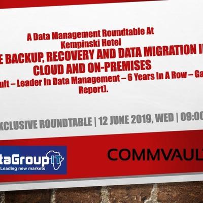 A Commvault - Data Management Roundtable
