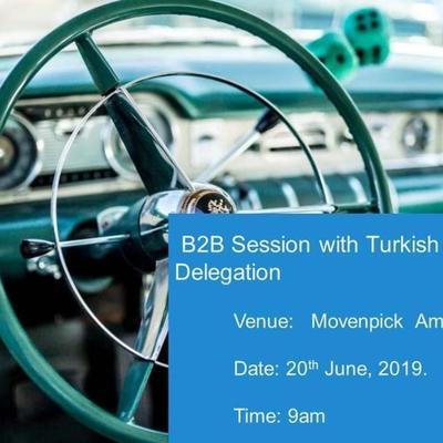 B2B Session with Turkish Automotive Delegation