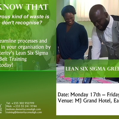 Lean Six Sigma Green Belt (LSSGB) Training