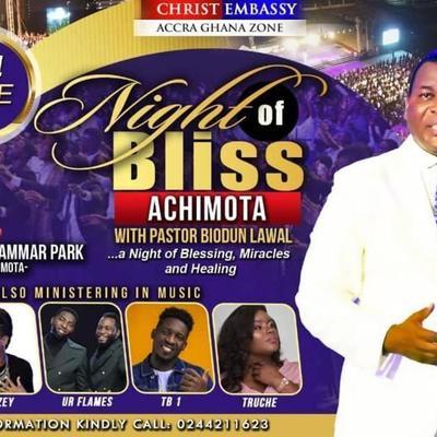 Night Of Bliss Achimota with Pastor Biodun Lawal