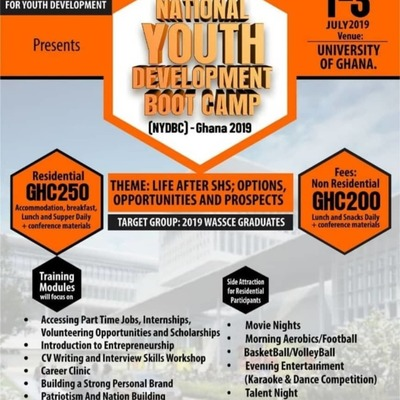 National Youth Development Boot Camp (NYDBC) 2019