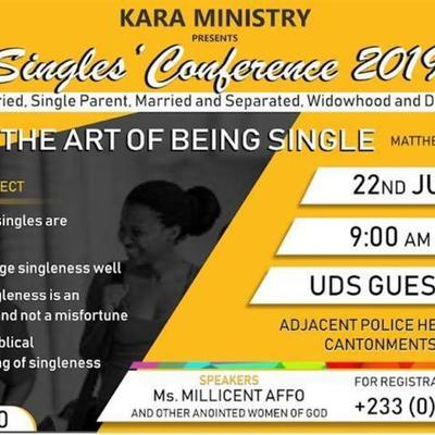 Singles Conference 2019