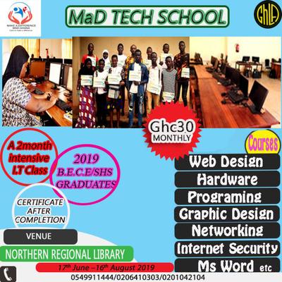 MaD Tech School 2019