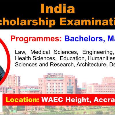 India Scholarship Examination (Study India)