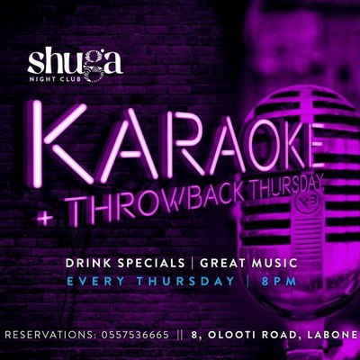 Karaoke/Throwback Thursday