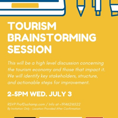 Tourism Brainstorming Session