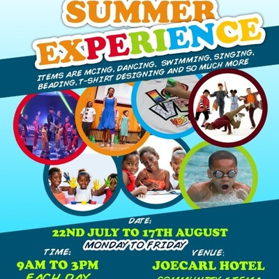 Summer Event for Kids 3 to 15 years