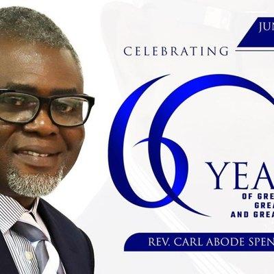 REV. CARL SPENCER'S 60TH BIRTHDAY CELEBRATION