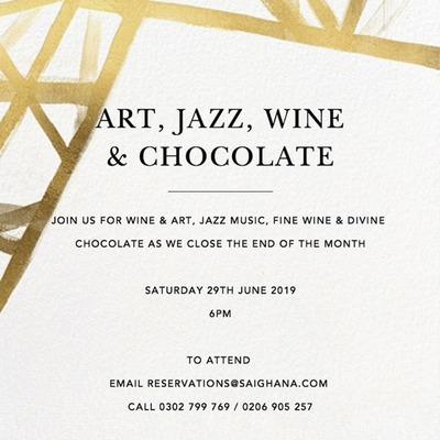 Art, Jazz, Wine & Chocolate