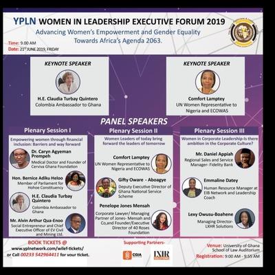 YPLN Women in Leadership Executive Forum 2019