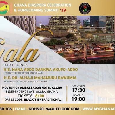 Ghana Diaspora Celebration & Homecoming Summit PRESIDENTIAL GALA