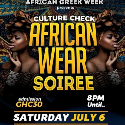 Africanwear Soiree (Culture Check Edition)