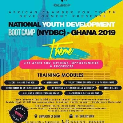 National Youth Development Boot Camp (NYDBC) Ghana 2019