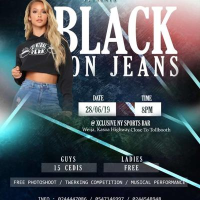 Black on Jeans