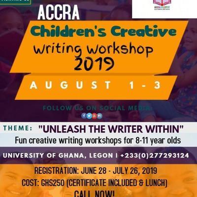 Accra Children's Creative Writing Workshop 2019