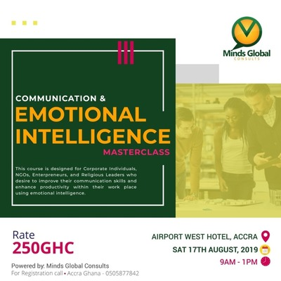 High Impact Communication & Emotional Intelligence Masterclass.