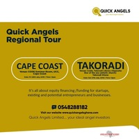 QUICK ANGELS LIMITED REGIONAL TOUR:  CAPECOAST & TAKORADI