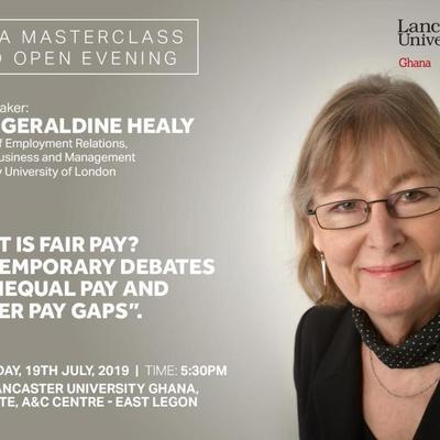 EMBA Masterclass with Prof. Geraldine Healy