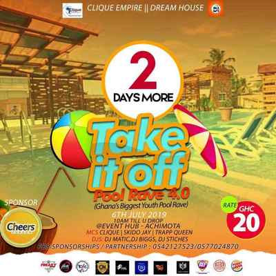 Take It Off  Pool Party Rave