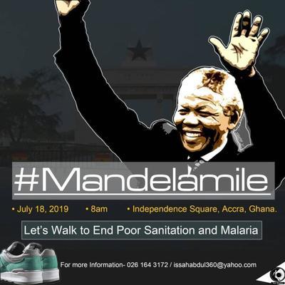 Accra is Walking #MandelaMile