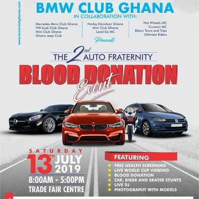 The 2nd Auto Fraternity Blood Donation
