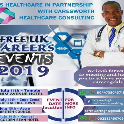 UK CAREER EVENTS FOR MEDICAL DOCTORS