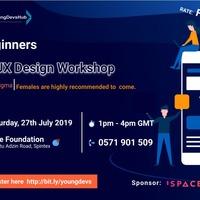 UI/UX Design Work shop for Beginners