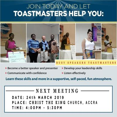 Toastmasters Meeting | Improve your Public Speaking Skills