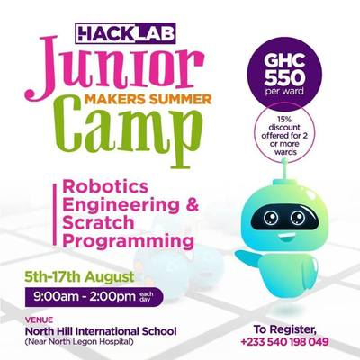 Junior Makers Summer Camp