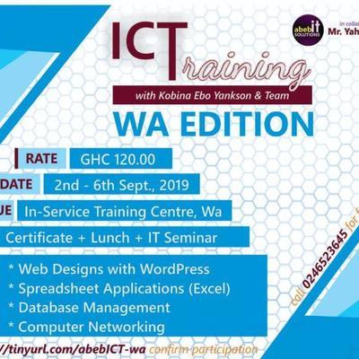 abebIT Solutions ICT Training - Wa Edition
