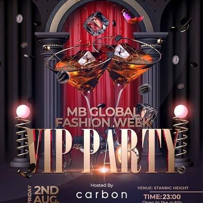 MB Global FashionWeek VIP Party