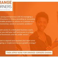 Orange Corners Entrepreneurs Meetup