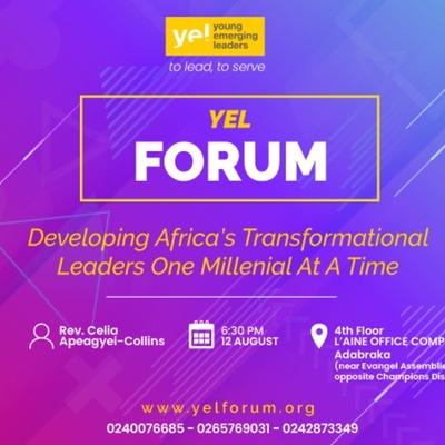 YEL Forum Ghana AUGUST 2019