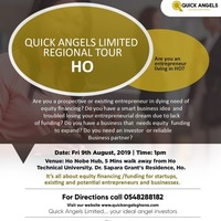 QUICK ANGELS LIMITED REGIONAL TOUR: HO