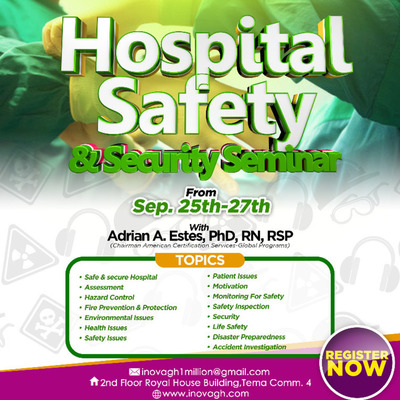 HOSPITAL SAFETY AND SECURITY SEMINAR
