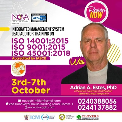 ISO LEAD AUDITOR TRAINING