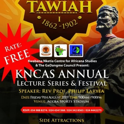 KNCAS Annual Lecture Series & Festival