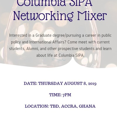 Columbia SIPA Networking Mixer - Accra