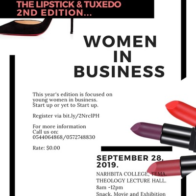 Lipstick & Tuxedo Entrepreneurship Workshop