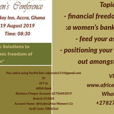 Pragmatic Solutions to Sustainable Economic freedom of Women""