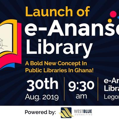 Launch of the e-Ananse Libraries