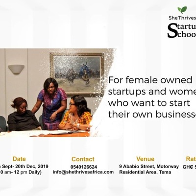 SheThrives Startup School