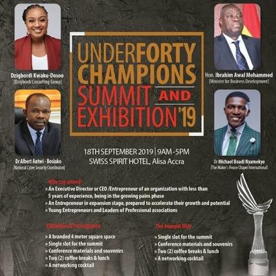Under 40 Champions Summit '19