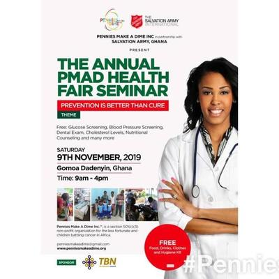 THE ANNUAL PMAD HEALTH FAIR SEMINAR