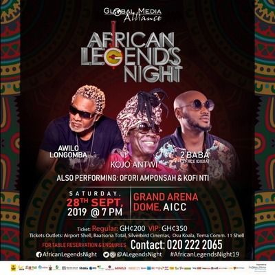 AFRICAN LEGENDS NIGHT